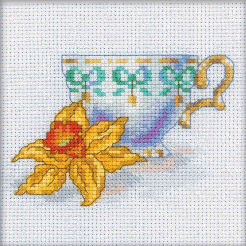 Вышивка крестом чашки приметы 19